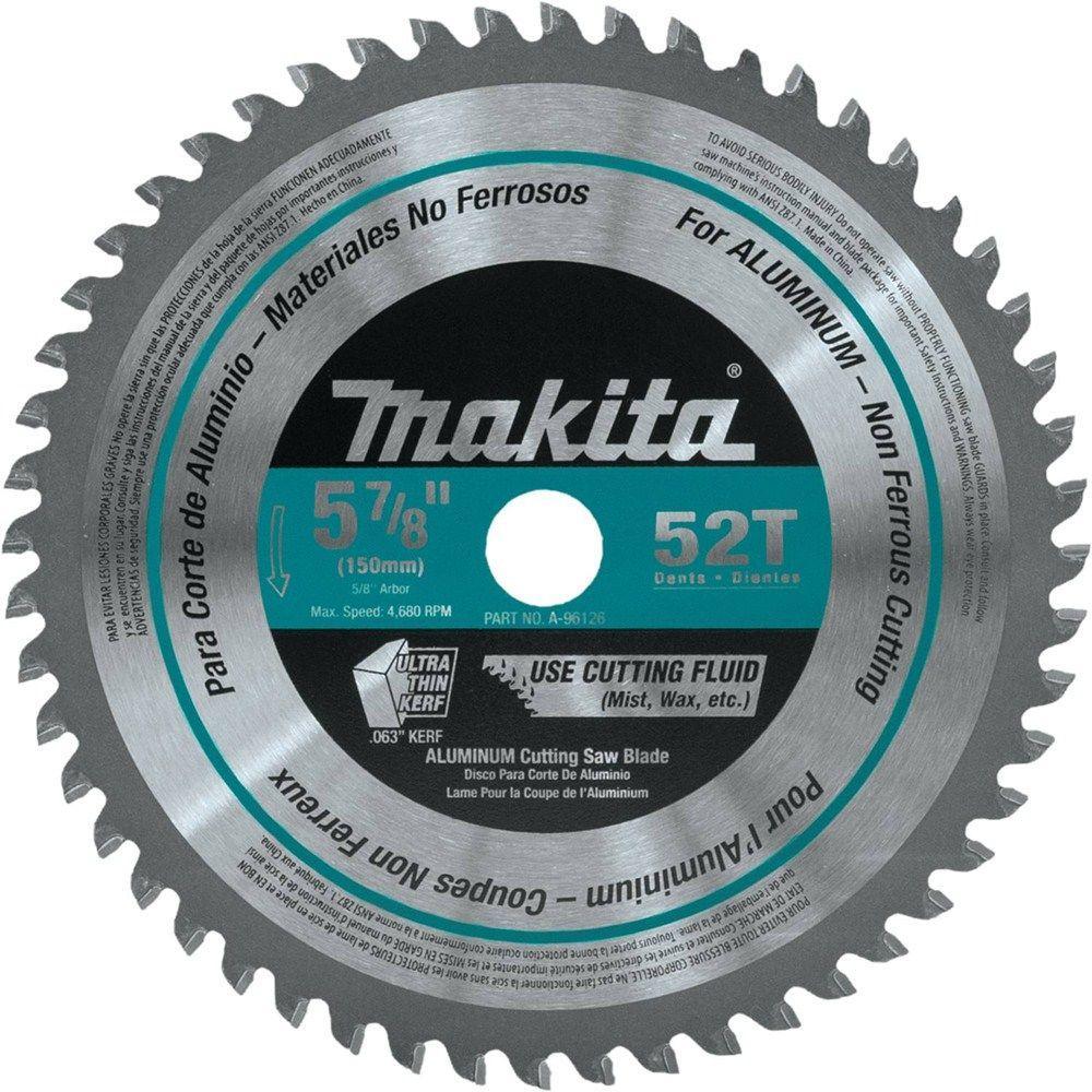 Makita 5 78 in 52 teeth aluminum carbide tipped saw blade a 96126 makita 5 78 in 52 teeth aluminum carbide tipped saw greentooth Gallery