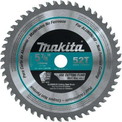 5-7/8 in. 52-Teeth Aluminum Carbide-Tipped Saw Blade