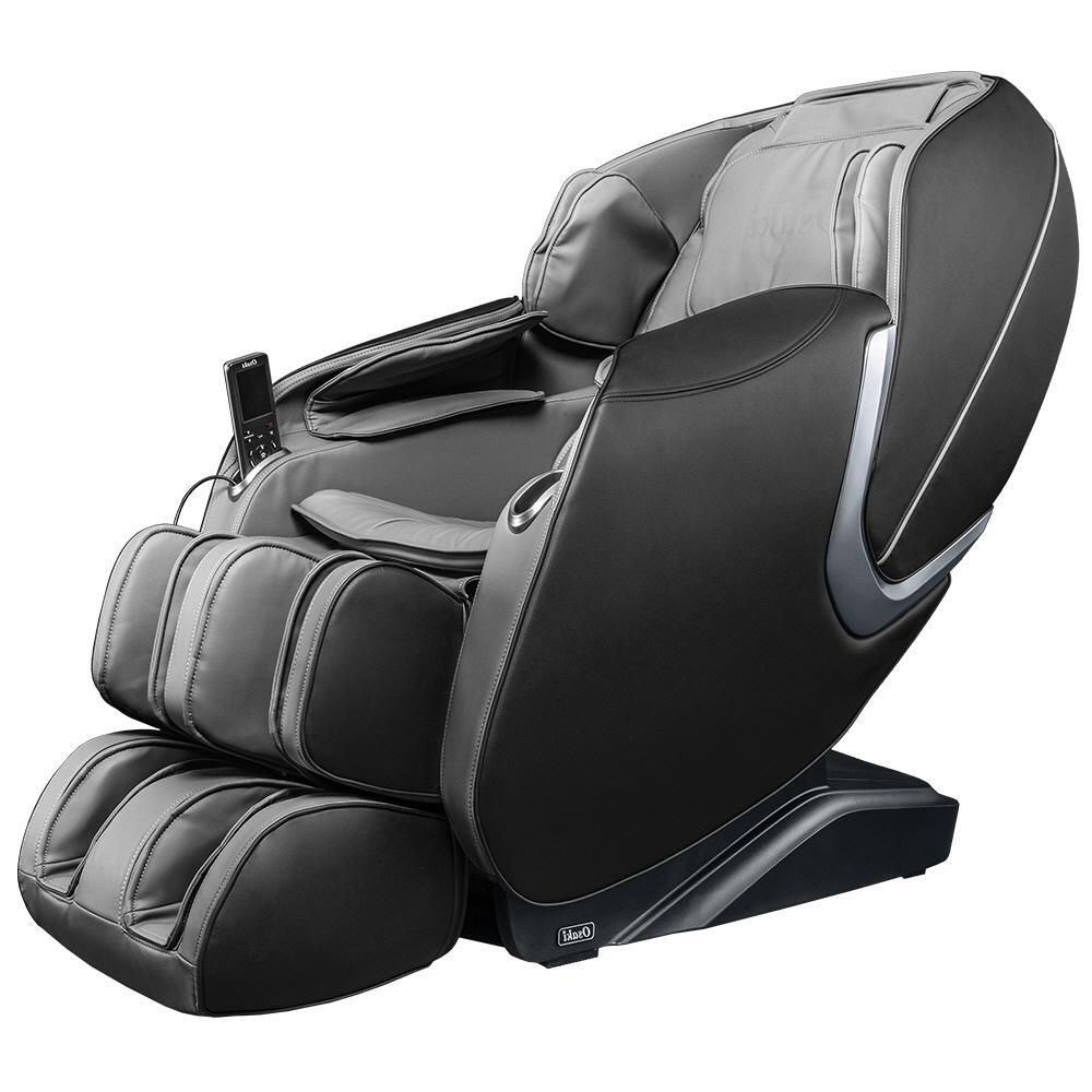 TITAN Osaki OS-Aster Grey Faux Leather Reclining Massage Chair