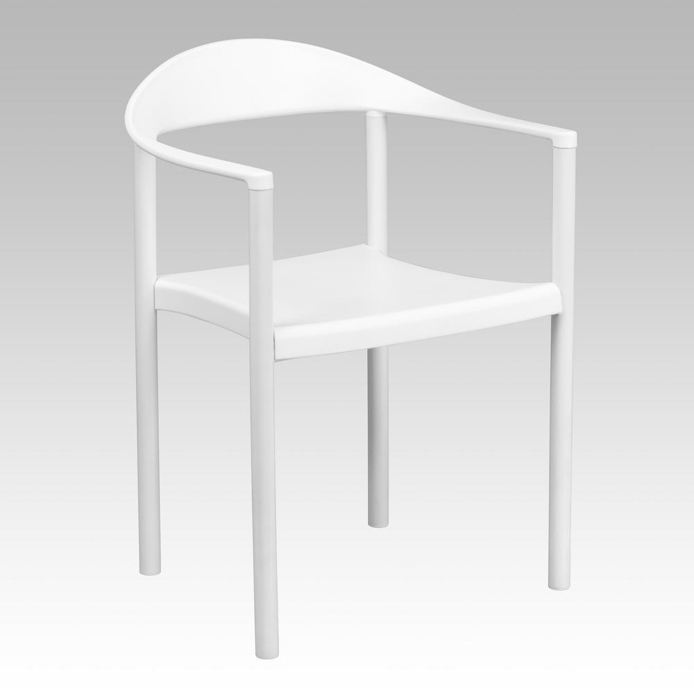 Carnegy Avenue White Side Chair CGA-RUT-8027-WH-HD