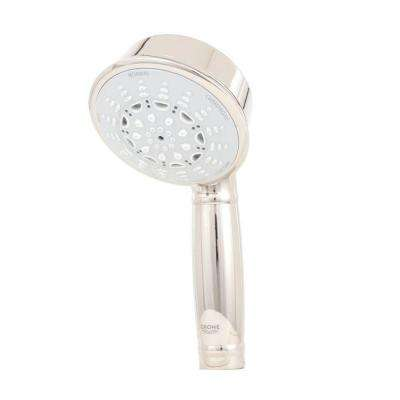Relax Rustic 5-Spray Hand Shower in Polished Nickel