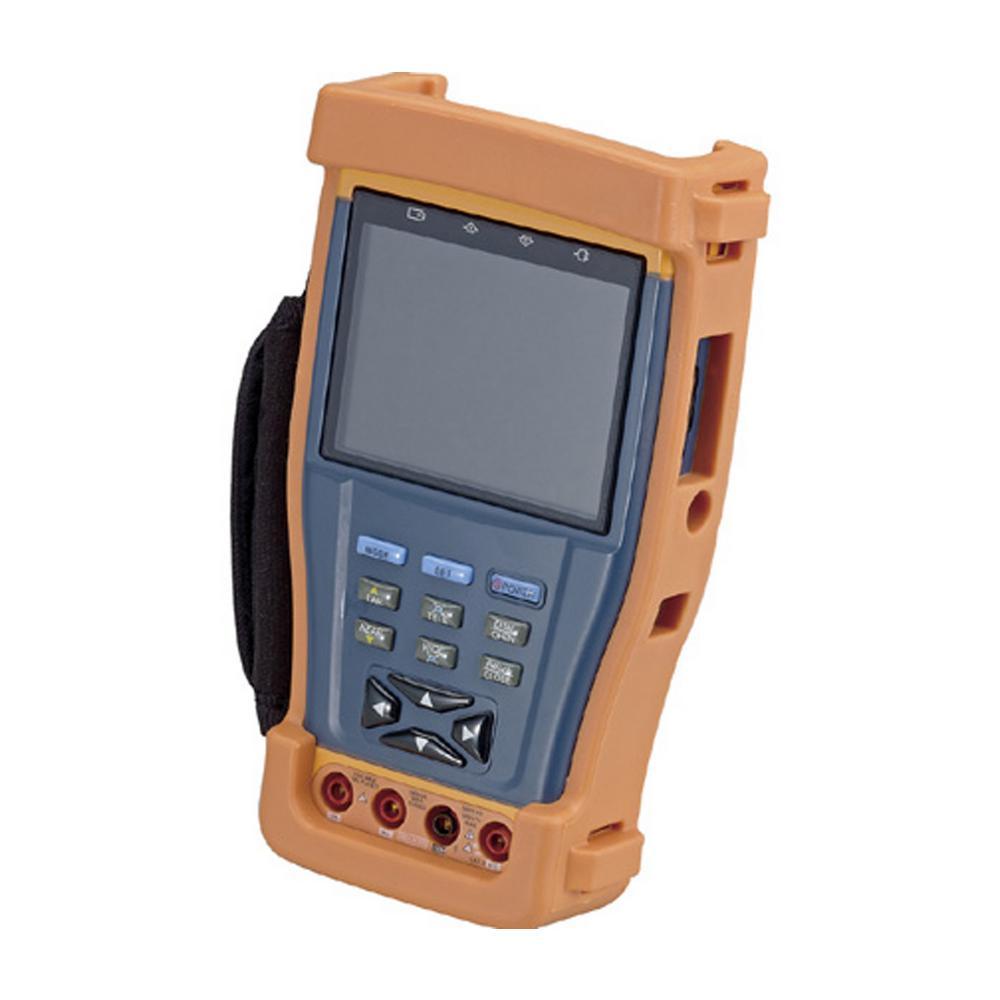 Multi-Functional CCTV Tester with 3.5 in. LCD and Built-In Digital Multi-Meter in Orange