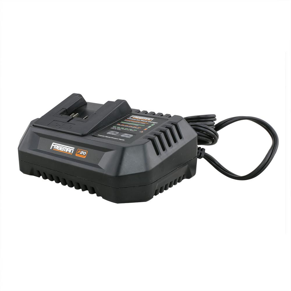 Freeman 20-Volt Electric Lithium-Ion Quick Battery Charger