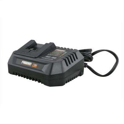 20-Volt Electric Lithium-Ion Quick Battery Charger