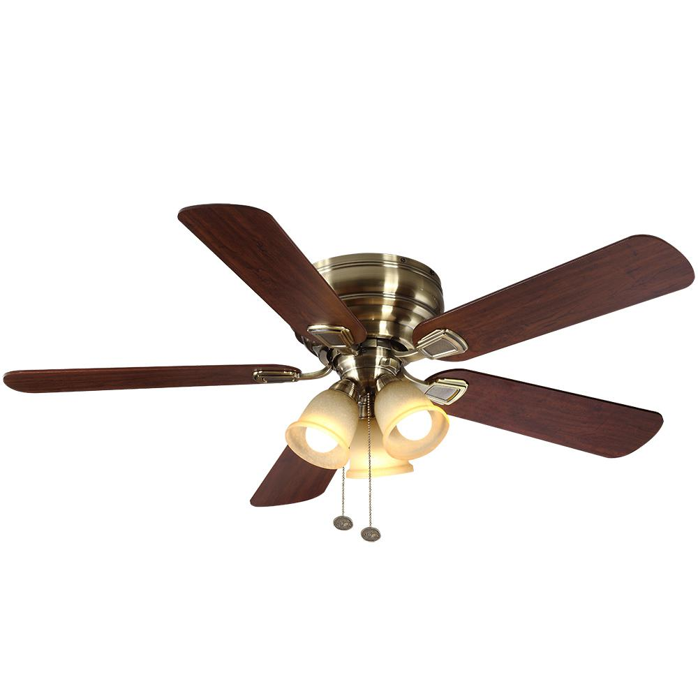 Hampton bay antigua plus 56 in led indoor oil rubbed bronze ceiling led indoor antique brass ceiling fan with light aloadofball Choice Image