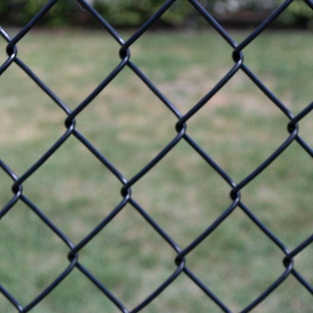 Yardgard 4 Ft X 50 9 Gauge Black Chain Link Fabric 308864a