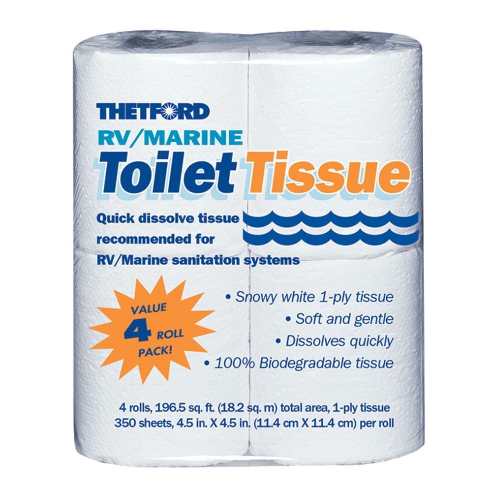 1-Ply RV/Marine Toilet Tissue (4-Pack)