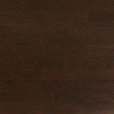 Oak Obsidian 3/4 in. Thick x 4 in. Wide x Random Length Solid Real Hardwood Flooring (21 sq. ft. / case)