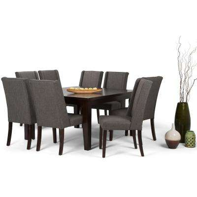 Sotheby 9 Piece Slate Grey Dining Set