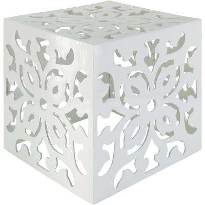Ari White Accent Table