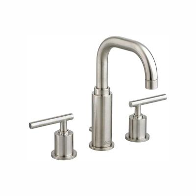 Serin 8 in. Widespread 2-Handle Bathroom Faucet in Brushed Nickel