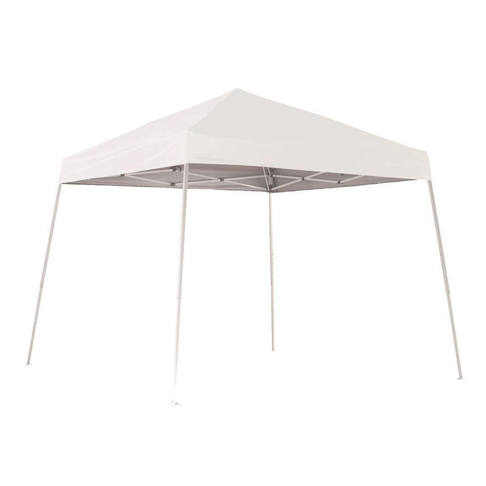 ShelterLogic Sports Series 10 ft. x 10 ft. White Slant Leg Pop-Up Canopy-22558 - The Home Depot  sc 1 st  Home Depot & ShelterLogic Sports Series 10 ft. x 10 ft. White Slant Leg Pop-Up ...