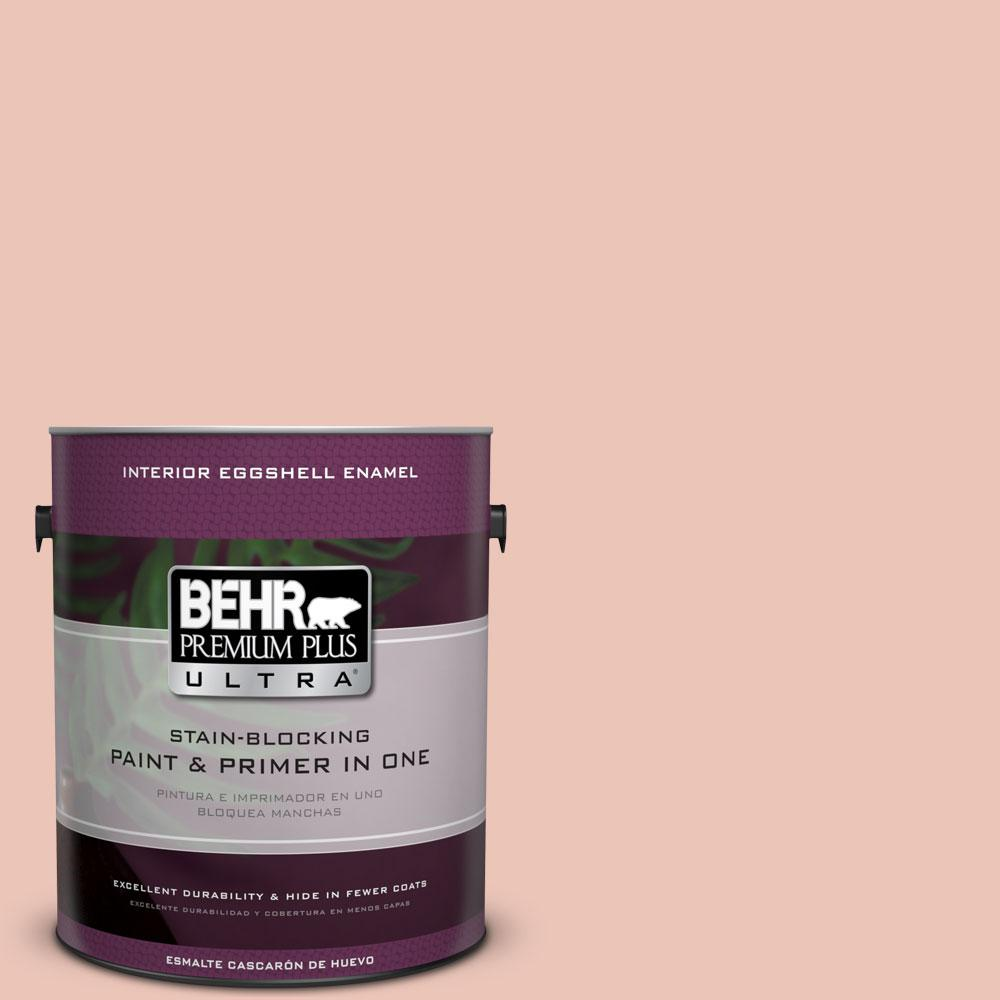 BEHR Premium Plus Ultra Home Decorators Collection 1-gal. #HDC-CT-14 Coral Coast Eggshell Enamel Interior Paint