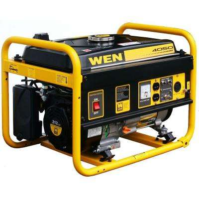 4050-Watt Gasoline Powered Portable Generator - CARB