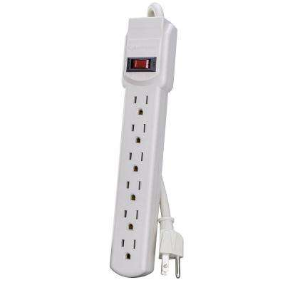 3 ft. 6-Outlet Power Strip