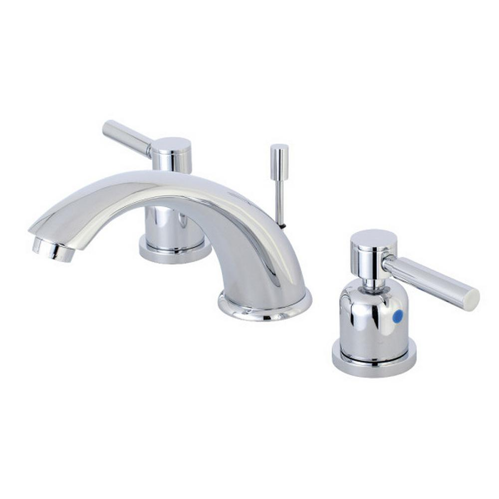 Kingston Brass Concord 8 in. Widespread 2-Handle Bathroom Faucet in ...