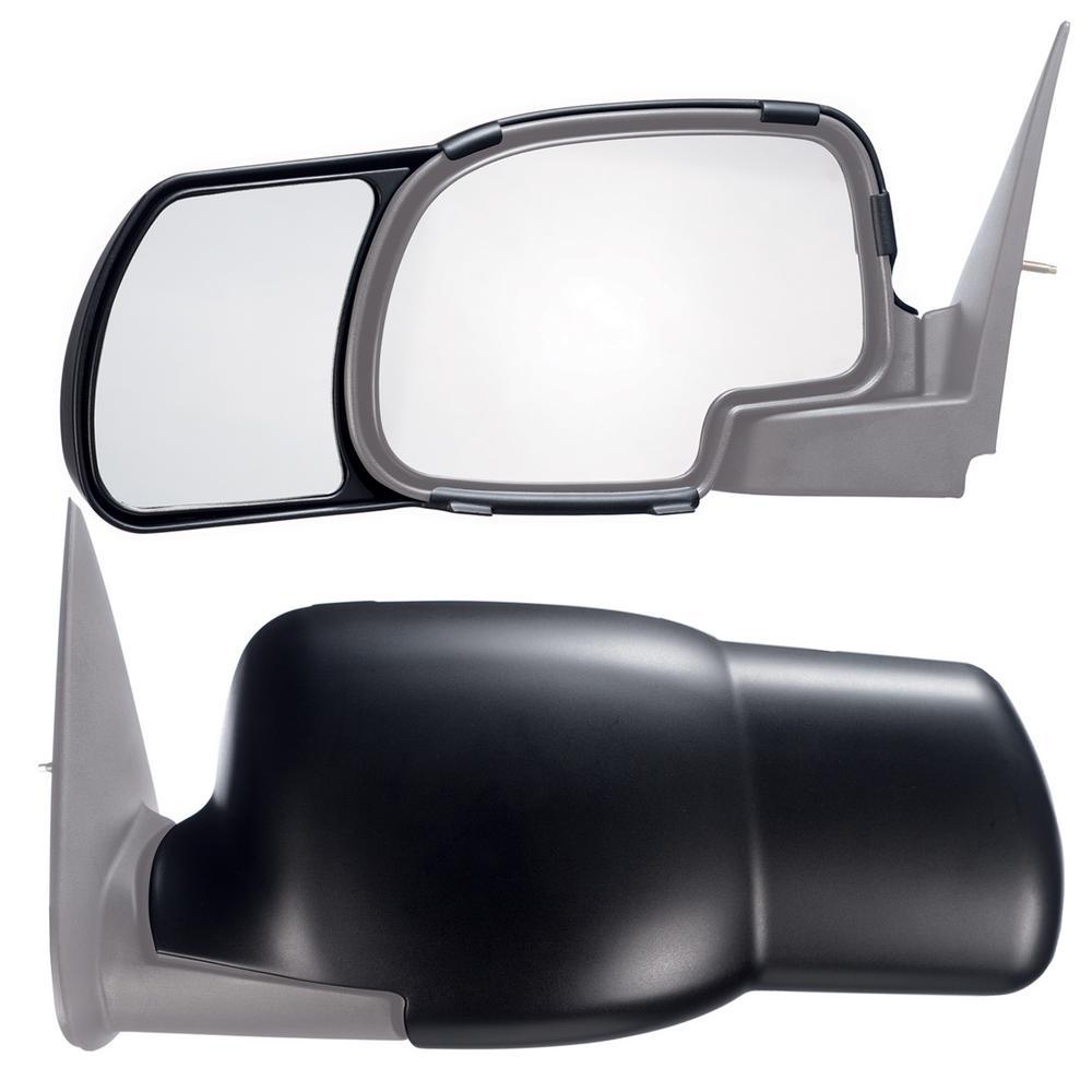Clip Snap-On Tow Mirror Extension FOR 2014 2015 Chevy Silverado 1500 2500 3500
