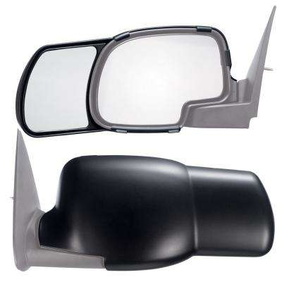 Clip-on Towing Mirror Set for 1999 - 2006 Silverado Sierra; 00-06 Suburban Tahoe Yukon; 02-06 Avalanche