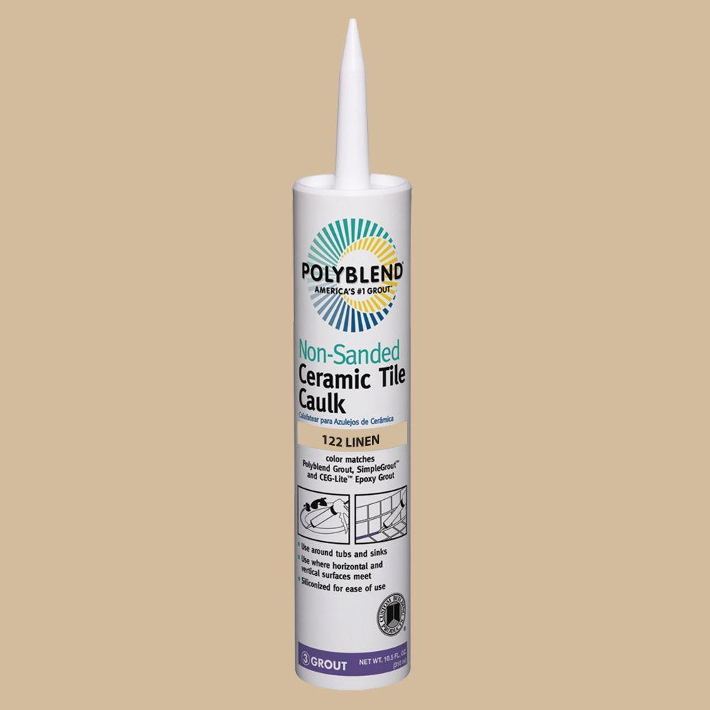 Custom building products polyblend 122 linen 105 oz non sanded custom building products polyblend 122 linen 105 oz non sanded ceramic tile caulk dailygadgetfo Image collections