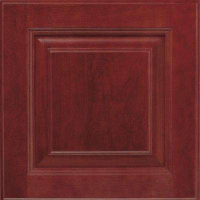 14.5x14.5 in. Cabinet Door Sample in Plaza Cranberry