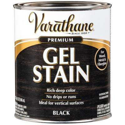 1 Qt. Black Wood Interior Gel Stain (2-Pack)