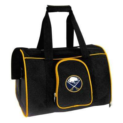 NHL Buffalo Sabres Pet Carrier Premium 16 in. Bag in Yellow