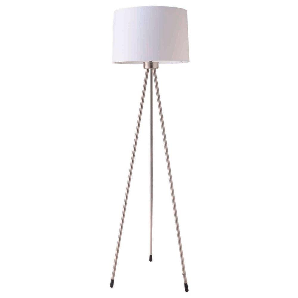 Ore international 59 in 3 legged white floor lamp 31181iv the 3 legged white floor lamp aloadofball Image collections
