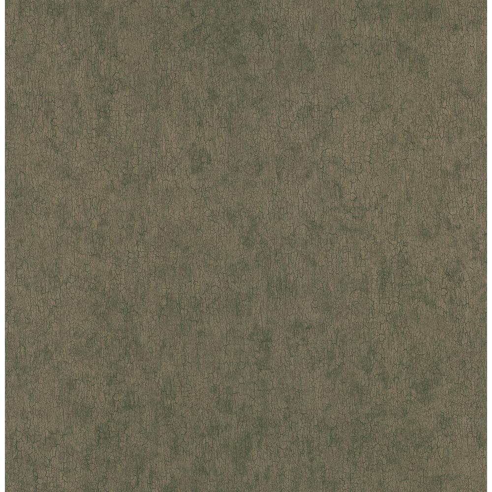 Northwoods Lodge Brown Crackle Texture Wallpaper Sample