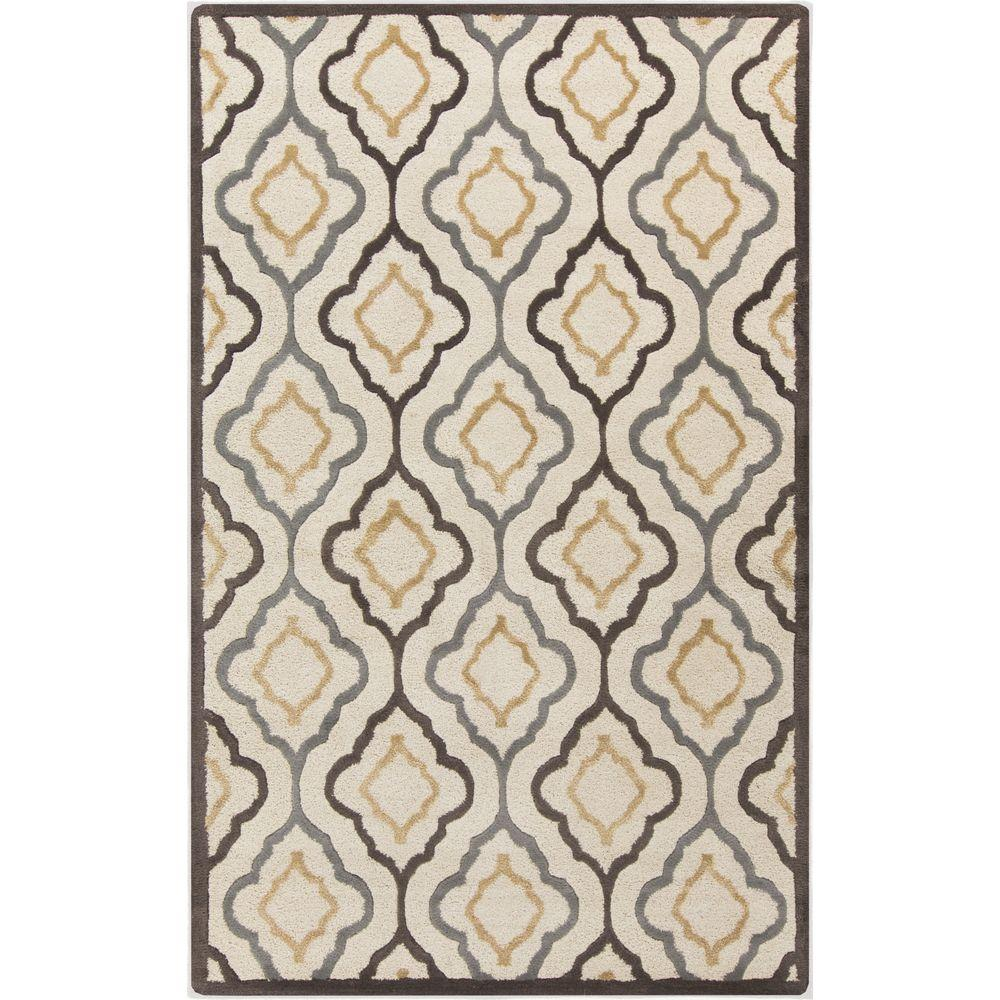 Dalian Chocolate 8 ft. x 11 ft. Indoor Area Rug