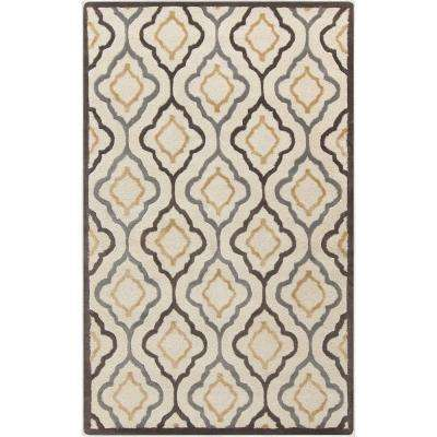 Dalian Chocolate 9 ft. x 13 ft. Indoor Area Rug