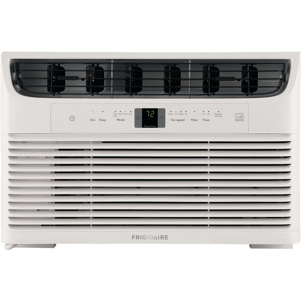 Frigidaire 6,000 BTU 115-Volt Window-Mounted Mini-Compact Air Conditioner with Full-Function Remote Control