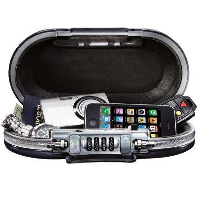 SafeSpace Set-Your-Own Combination Portable Safe in Black