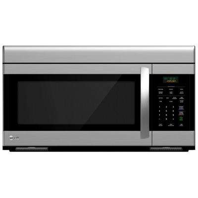 1.6 cu. ft. Over the Range Microwave Oven in Stainless Steel