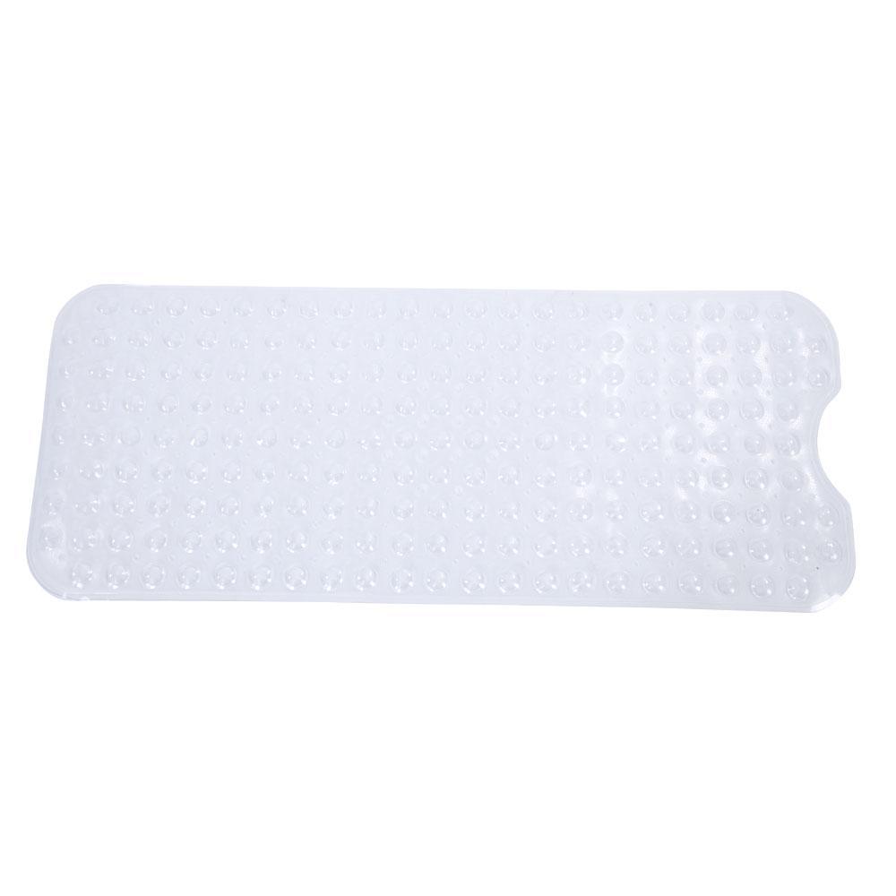 39 In X 15 In Bathroom Bathtub Non Slip Bath Mat Transparent