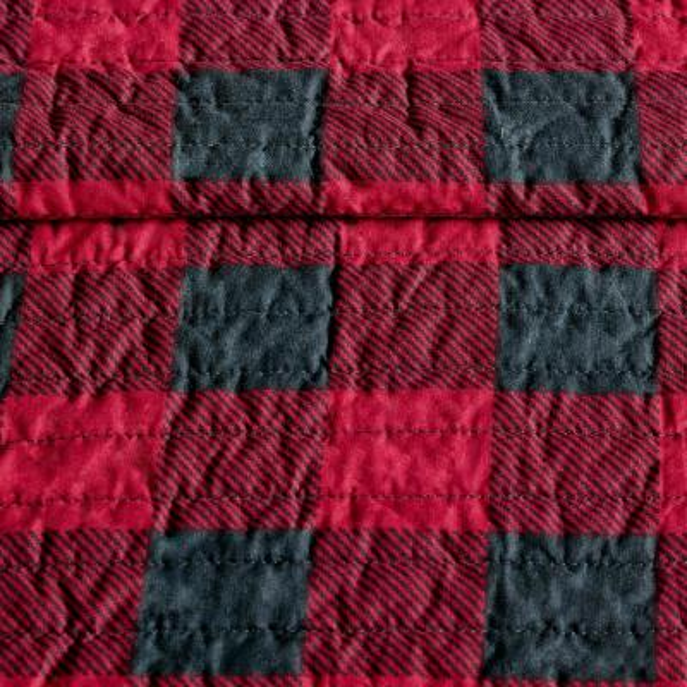 WR Woolrich Check Quilt Mini Set