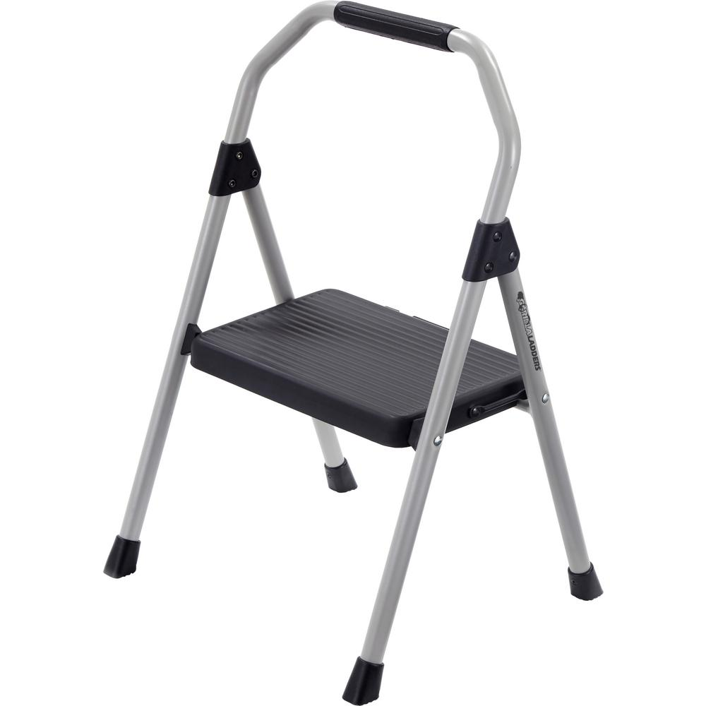 Gorilla Ladders 1-Step Compact Steel Step Stool with 225 lb. Load Capacity Type II Duty Rating