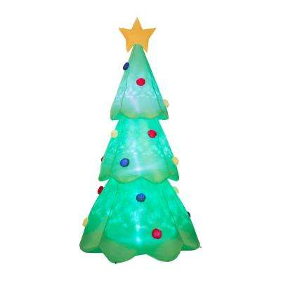 9FT Lighted Inflatable Christmas Tree Decor