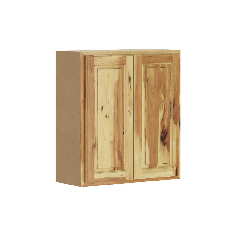 Hampton Bay Madison Assembled 27x30x12 In Wall Cabinet In