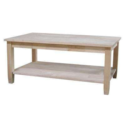 Solano Unfinished Coffee Table