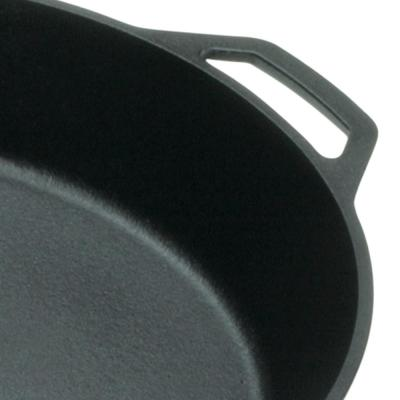 17 in. Cast Iron Skillet