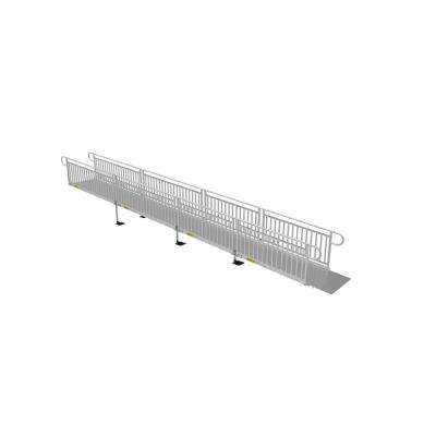 28 ft. Solid Surface Ramp Kit with Vertical Pickets