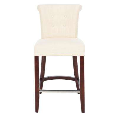 Addo 26 in. Sand Cushioned Bar Stool