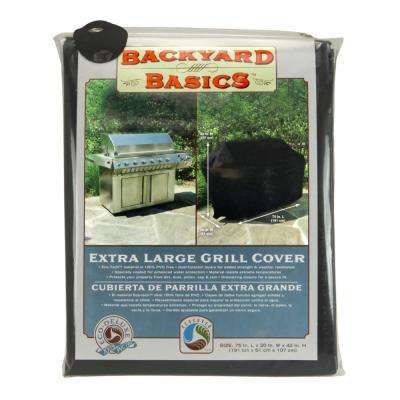 Eco-Cover 75 in. x 20 in. x 42 in. Fabric Grill Cover