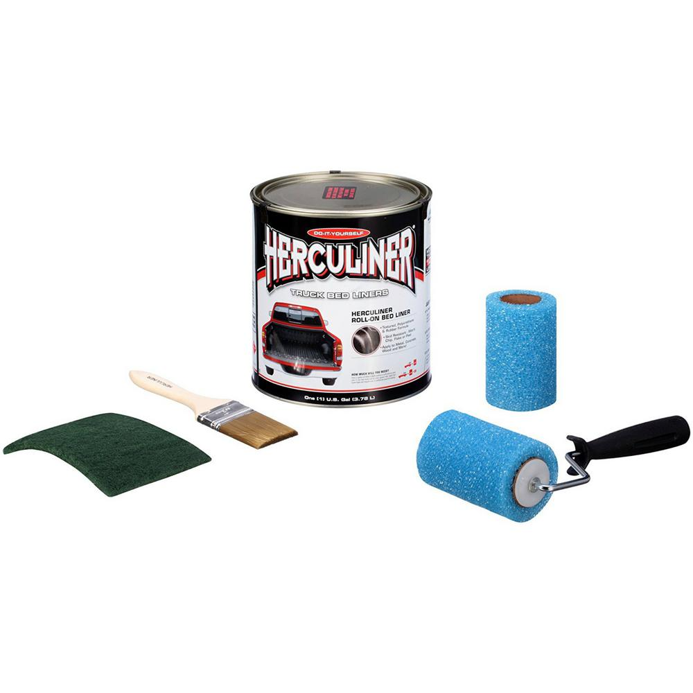 Herculiner truck bed liner kit hcl0b8 the home depot herculiner truck bed liner kit solutioingenieria Gallery