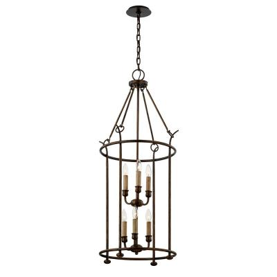 Paso Robles 6-Light Pendant - Pompeii Bronze