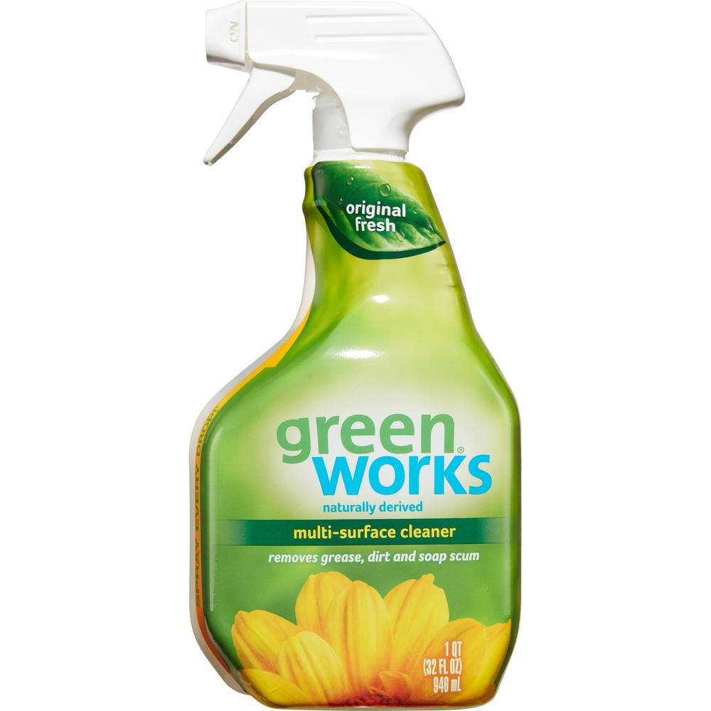 Kitchen Cleaner: Green Works 32 Oz. Natural All-Purpose Cleaner-4460000450