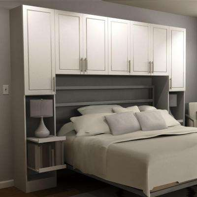 Madison 1-Piece White Queen Bedroom Kit