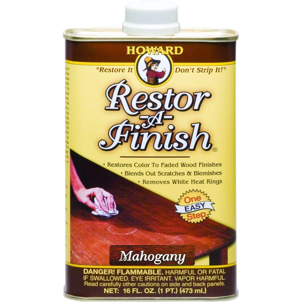 16 oz. Mahogany Wood Finish Restorer