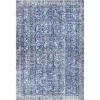 Onyx Transitional Blue 8 ft. x 12 ft. Area Rug