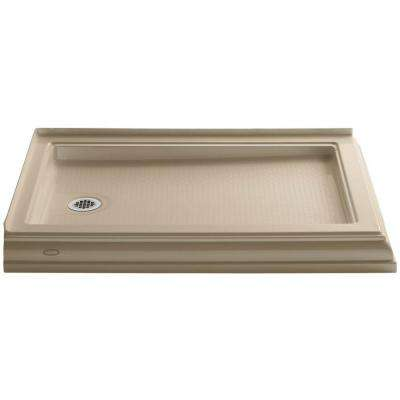 Memoirs 48 In. X 34 In. Double Threshold Shower Base ...